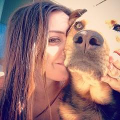 Wear Heart on Cheek | Kari with Milo