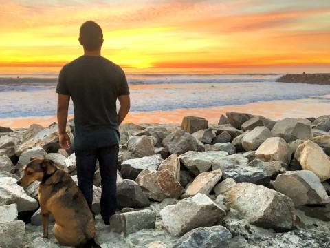 Carlsbad San Diego Sunset Tamarak Beach