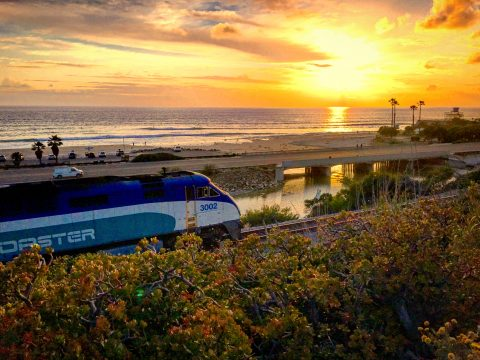 San Diego - Encinitas - Cardiff - Train Tracks
