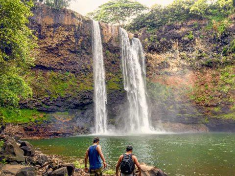 Hawaii - Kauai - Lihue - Wailua Falls