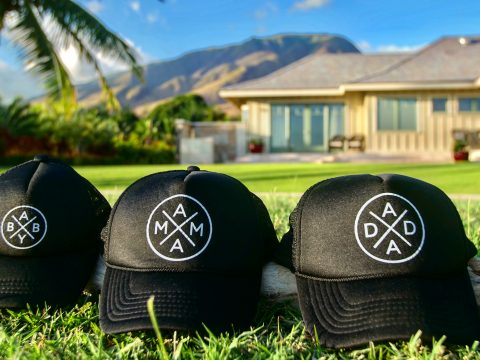 Hawaii - Maui - Olowalu - Home - Trucker Hats (IG) (1)